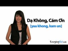 ▶ Learn Vietnamese: Lesson 2: Yes, No, Maybe, and No, Thank You in Vietnamese - YouTube
