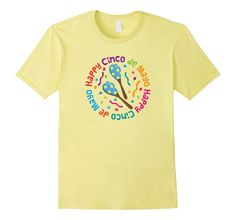 Cinco De Mayo Holiday T-shirt Fiesta Party Tee