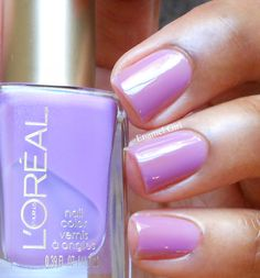 LOREAL Lilac Coolers (Miss Candy Gellie Collection Summer 2013) jelly nail polish