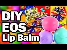 DIY STILETTO EOS   How to Make EOS Lip Balm - YouTube