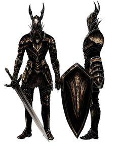 Black Knight - Pictures & Characters Art - Dark Souls