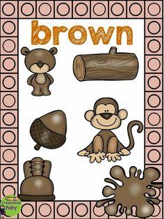Creaciones Paty Color Worksheets For Preschool, Preschool Arts And Crafts, Color Secundario, Color Shapes, Color Flashcards, English Language Course, School Labels, Language School, Colouring Pics