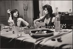 The Rolling Stones by Dominique Tarlé - Villa Nellcôte (France) - 1971