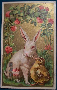 Vintage Easter Postcard by riptheskull, via Flickr