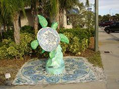 Vero Beach Turtles ..... they are everywhere...