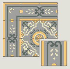 Villa Lagoon Tile | Mosaic Cement Tile