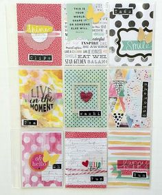 Pocket Letter™ POCKET PAGES™ project by mambi Design Team member Jen Randall | me & my BIG ideas