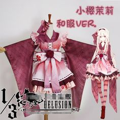 MekakuCity Actors Kozakura Mari Uniforms Cosplay Kimono Free Shipping-in Costumes & Accessories from Novelty & Special Use on Aliexpress.com | Alibaba Group