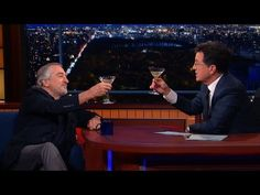 Robert De Niro Enjoys A Cold Martini And Silence, Full Interview - YouTube