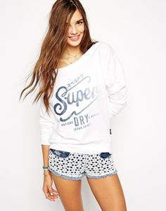 Superdry Long Sleeved T-Shirt