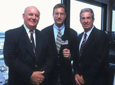 Benny Parsons, Bob Jenkins & Ned Jarrett - ESPN Booth