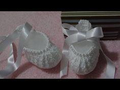 Passo a passo Sapatinho em Crochê Princesa - YouTube