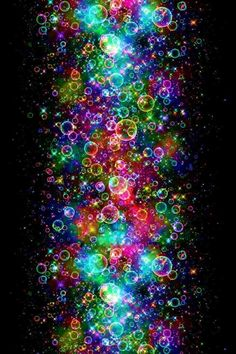 Rainbow bubbles :) :)