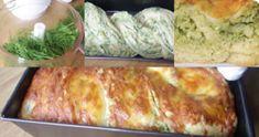 Słoneczne: Ciasto czosnkowe z serem i ziołami.