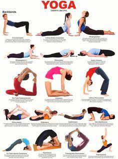 75 yoga poses pdf 85x11  etsy in 2020  ashtanga yoga