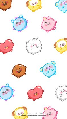 "van파니🐯 on Twitter: ""as my promise... mochi BT21 wallpapers 🍡 📝 note : feel free to use them if you want ☺ but please don't repost! 🚫🙅… """
