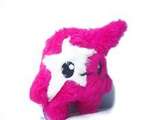 Fluse Kawaii Plush  Monster White Star Pink von Fluse123 auf Etsy, €22.00