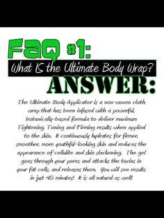 What is the It Works Ultimate Body Wrap Applicator?