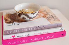 Fashion books.
