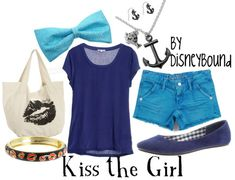 "The little Mermaid ""Kiss the Girl"" inspired apparel"