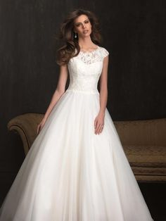 Allure Bridals 9058 Allure Bridal Prom Gowns, Wedding Gowns and Formal Wear - Celestial Brides