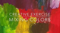 One of my favorite ways to explore new territory and keep things interesting is to mix up my own new colors. In one of this month's videos, I share a few super easy tips on how to mix your own colors. Mixing colors is such an awesome way to keep the spark of inspiration alive in your work. It's also a powerful way to set your paintings apart with colors that are all your own. I'm happy to give you an idea of what you will find in each Studio Diary by offering you a free peek at this…