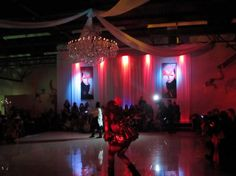 Cool lighting of a quinceanera hall in Dallas!  Do you like it?  http://www.mydallasquinceanera.com/latino-ballroom