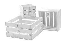 Drewniane Skrzynki 202 (20x20x15) Białe HAND4HOME (5405442516) - Allegro.pl - Więcej niż aukcje.