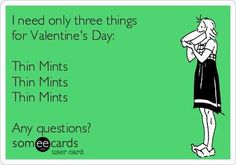 Thin Mints! Girl Scout Cookie Sales, Girl Scout Cookies, Daisy Girl Scouts, Thin Mints, Cookie Time, Daisies, Fun, Margaritas, Bellis Perennis
