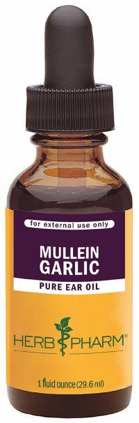Herb Pharm Mullein/Garlic Herbal Ear Drop Oil - 1 Ounce $10.31 on Amazon