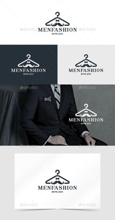 Men Fashion - Logo Design Template Vector #logotype Download it here: http://graphicriver.net/item/men-fashion/14064370?s_rank=1577?ref=nexion