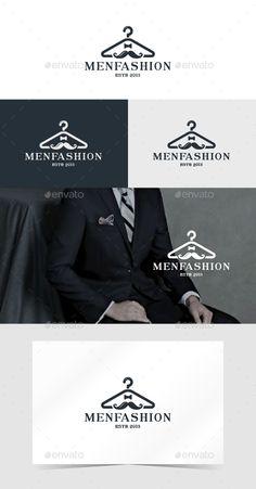 Men Fashion - Logo Design Template Vector #logotype Download it here: http://graphicriver.net/item/men-fashion/14064370?s_rank=1577?ref=nexion