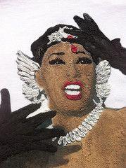 Josephine Baker Tshirt 3D - African-American Dancer - Black Pearl Bronze Venus T-shirt Painting T Shirt Creole Goddess
