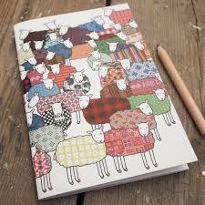 mary kilvert sheep - my Xmas cards 2013