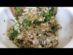 How to make Koy Pa (Minced Fish Salad).