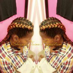 ~Goddess braids~ Shaye The Stylist  Book now!  ☎817-714-8362