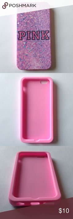 New iPhone 6/6s VS Silicone Phone Case This listing is for 1 brand new iPhone 6/6s VS Phone case. This case will fit both iPhone 6 and iPhone 6s. PINK Victoria's Secret Accessories Phone Cases