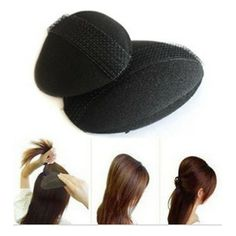 enfeites de cabelo acessórios de cabelo de cabeleireiro ferramenta estilo princesa Eleva cabelo dispositivo bulkness esponja fabricante de cabelo almofada US $2.98