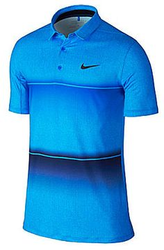 Nike Golf Short-Sleeve Mobility Stripe Polo Shirt