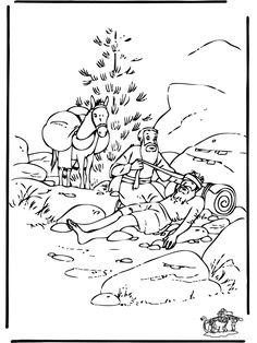 good samaritan activities for kids az coloring pages