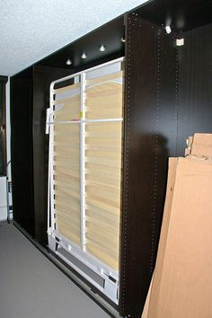 DYI murphy bed  Picture of Install the Top Section
