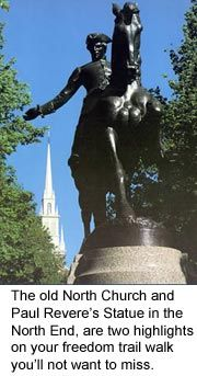 Boston vacations North Church