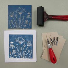 Linolium, Lino Print Artists, Lino Art, Cardboard Sculpture, Handmade Stamps, Fabric Stamping, Linoprint, Stamp Printing, Stamp Making