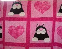 Madame Frog's Craft Blog: Cat Quilt