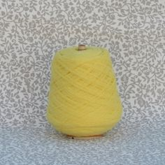 A range of beautiful and soft knitting and crochet yarns on cones. Crochet Yarn, Knitting Yarn, Wool Yarn, Yellow, How To Make, Beautiful, Thread Crochet, Gold