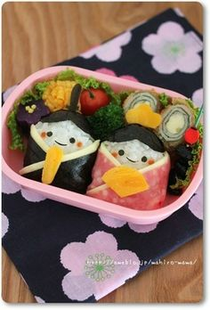 Puppet festival doll bento