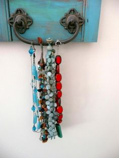 JEWELRY BOX SHUTTER  AQUA BLUE by kakilakimoon on Etsy  I really want this...