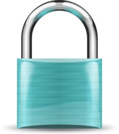 Tiffany Blue Padlock