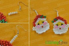 Wanna try Santa Claus earrings? Check here! Today's Pandahall tutorial on how to make cute Santa Claus earrings for girls will catch your eyes a lot!