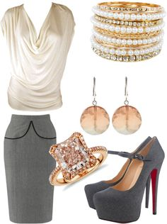 """""""A Day at the office!"""" by mshyde77 on Polyvore"""